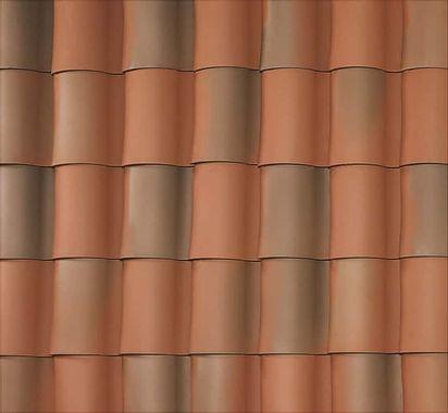 """BORAL 1-Piece """"S"""" Tile El Camino Blend Swatch"""