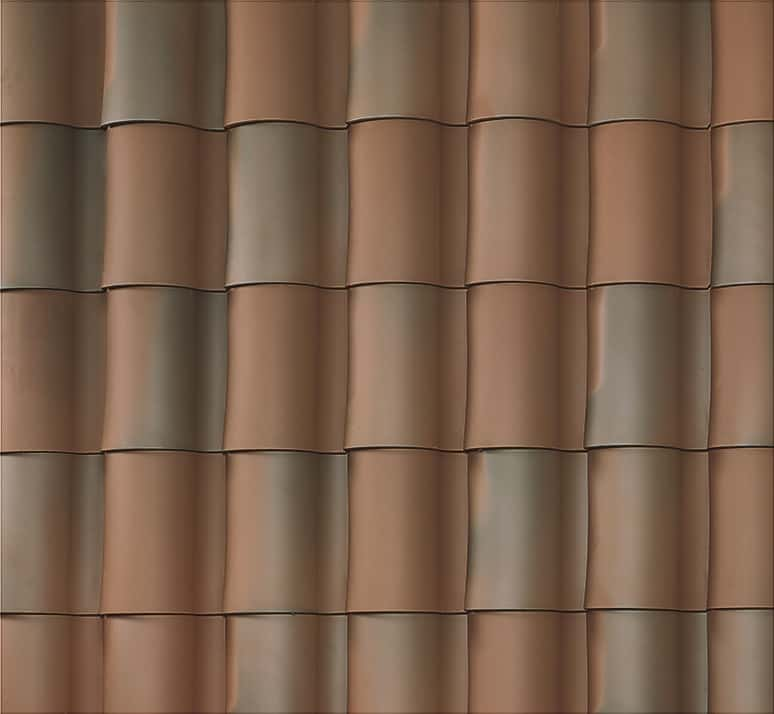 """BORAL 1-Piece """"S"""" Tile Madera Blend Swatch"""