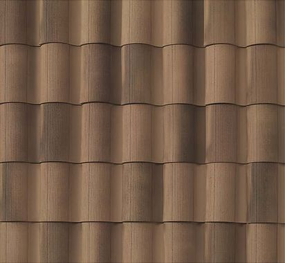 "BORAL 1-Piece ""S"" Tile Rustic Carmel Swatch"