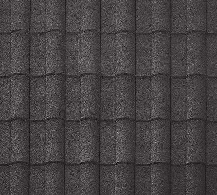 BORAL Barrel-Vault Tile Charcoal Swatch