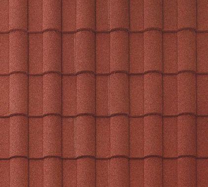 BORAL Barrel-Vault Tile Spanish Red Swatch