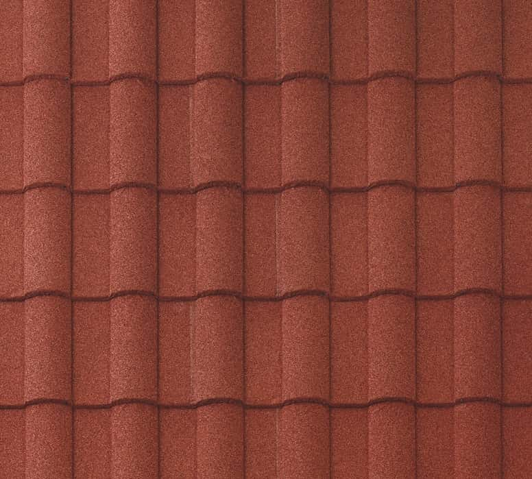 BORAL Barrel-Vault Tile Spanish Red Swatch