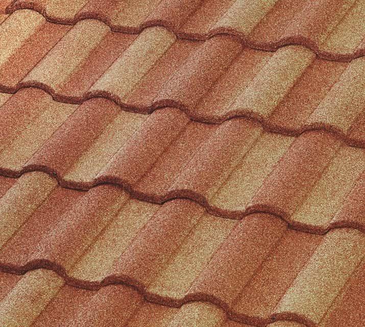 BORAL Barrel-Vault Tile Sunset Gold House