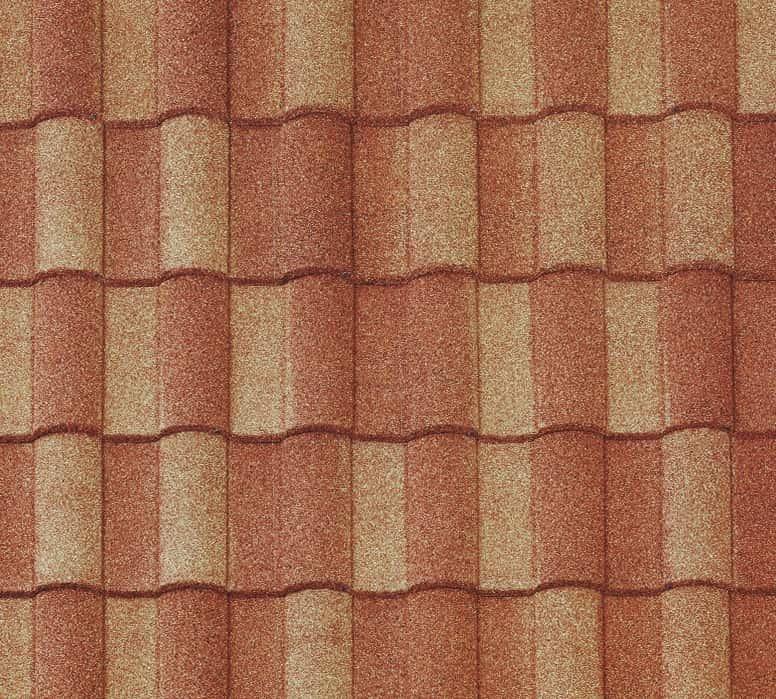 BORAL Barrel-Vault Tile Sunset Gold Swatch