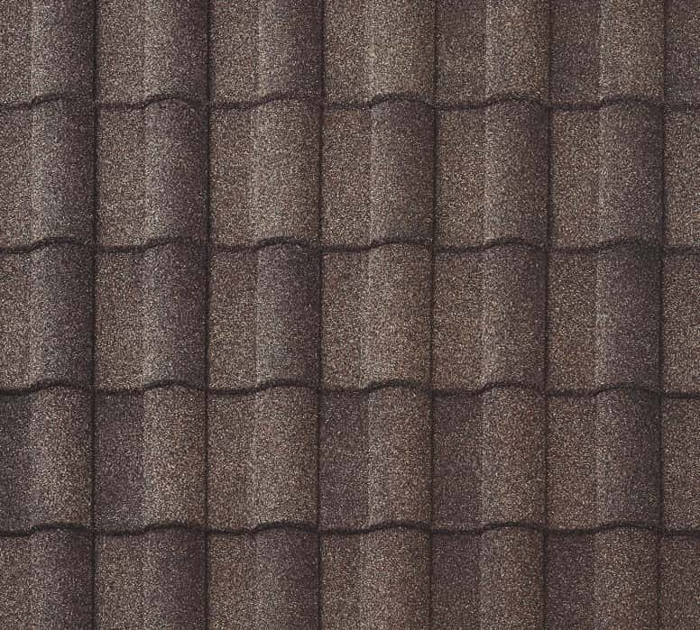 BORAL Barrel-Vault Tile Timberwood Swatch