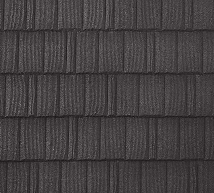 BORAL Pine Crest Shake Charcoal Swatch