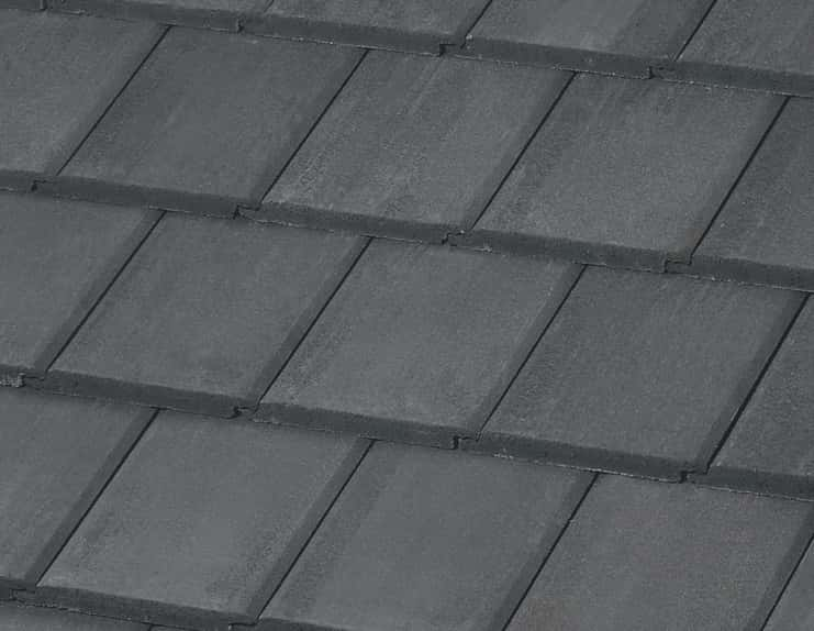 BORAL Saxony Country Slate Impact Charcoal Blend House
