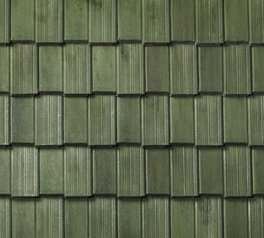 BORAL Saxony Split Old English Thatch Prairie Green Swatch