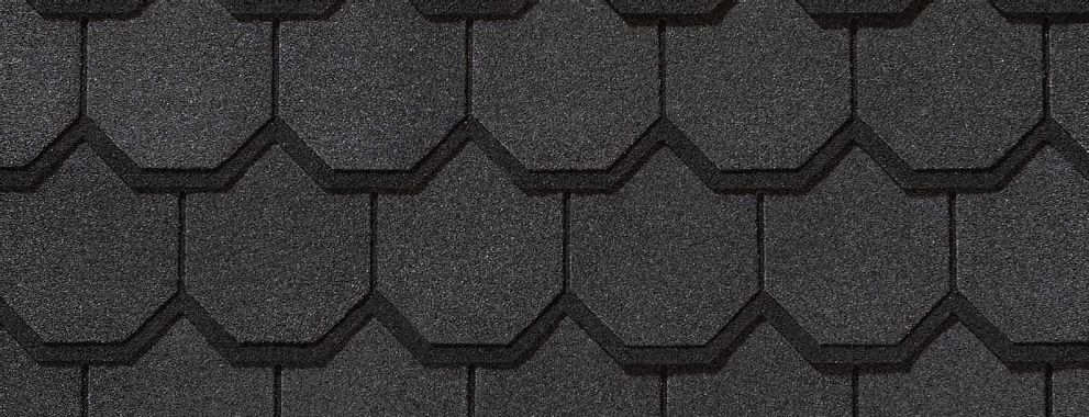 Certainteed Carriage House Black Pearl Swatch