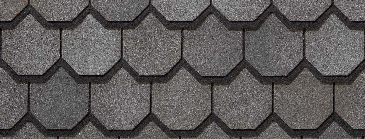 Certainteed Carriage House Stonegate Gray Swatch