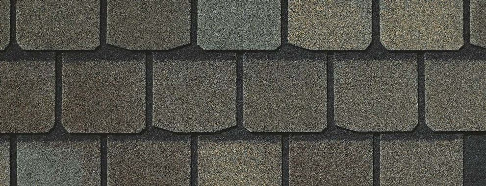 Certainteed Highland Slate Max Def Weathered Wood Swatch