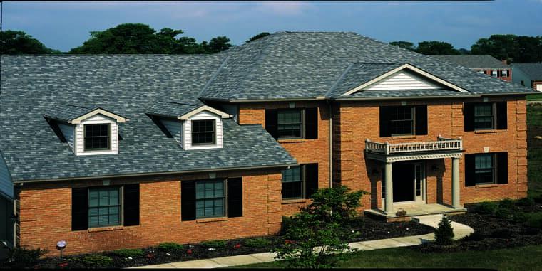 Certainteed Landmark Georgetown Gray House