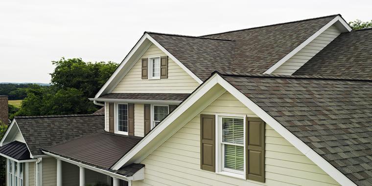 Certainteed Landmark Weathered Wood House