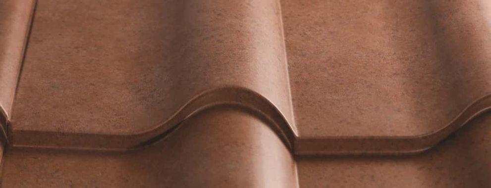 Certainteed Matterhorn Metal Tile Brick Blend Swatch