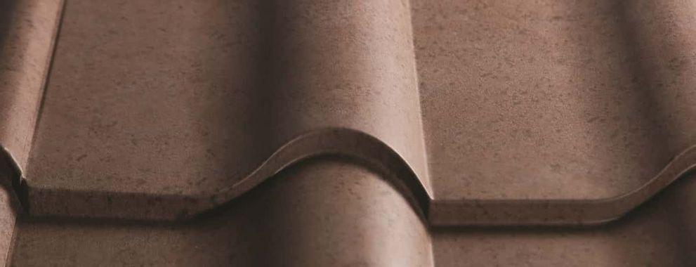 Certainteed Matterhorn Metal Tile Tuscan Stone Swatch