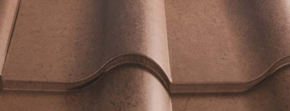 Certainteed Matterhorn Metal Tile Weathered Sequoia Swatch