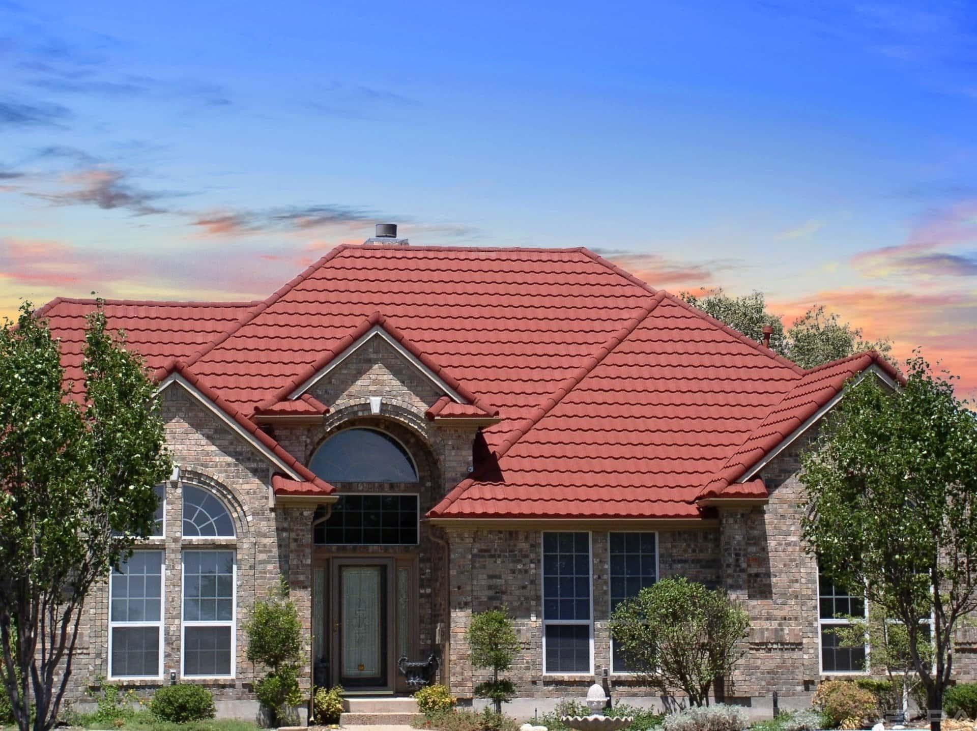 DECRA Tile Garnet House