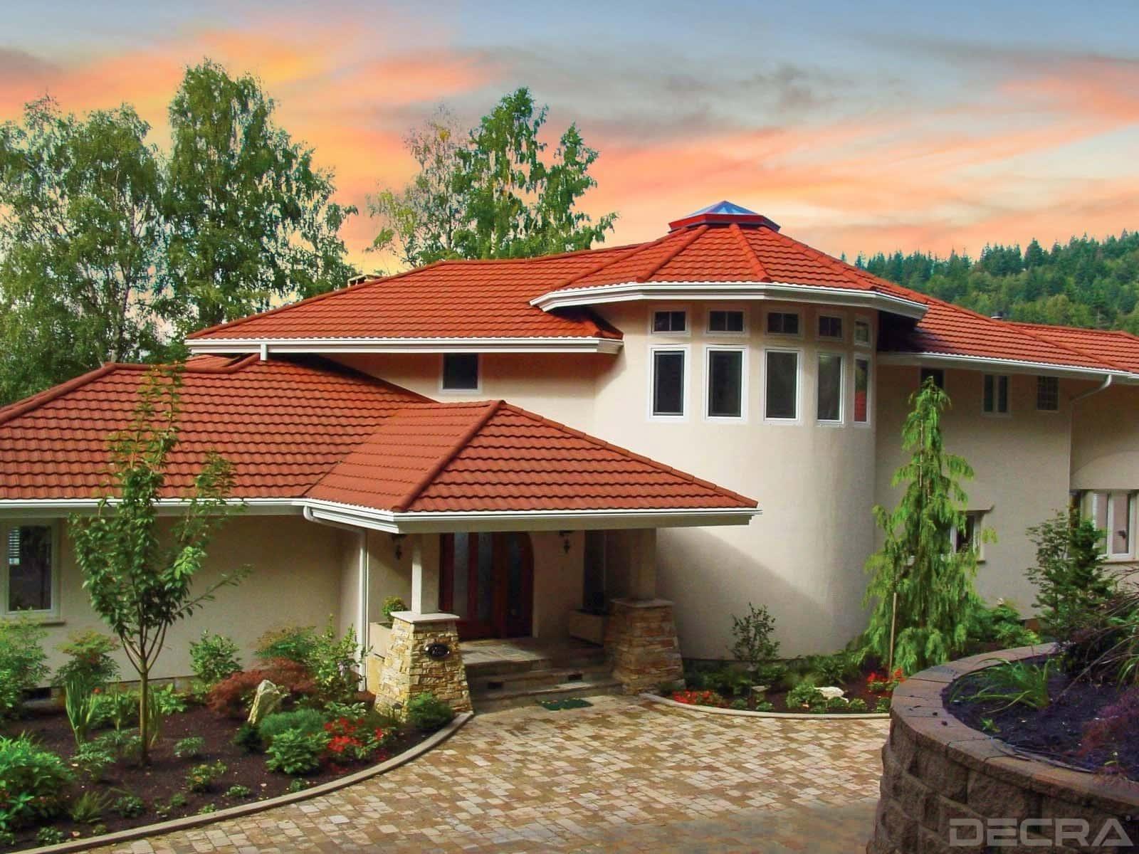 DECRA Tile Terracotta House