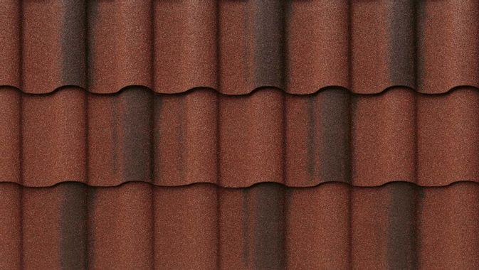 DECRA Villa Tile Rustico Clay Swatch