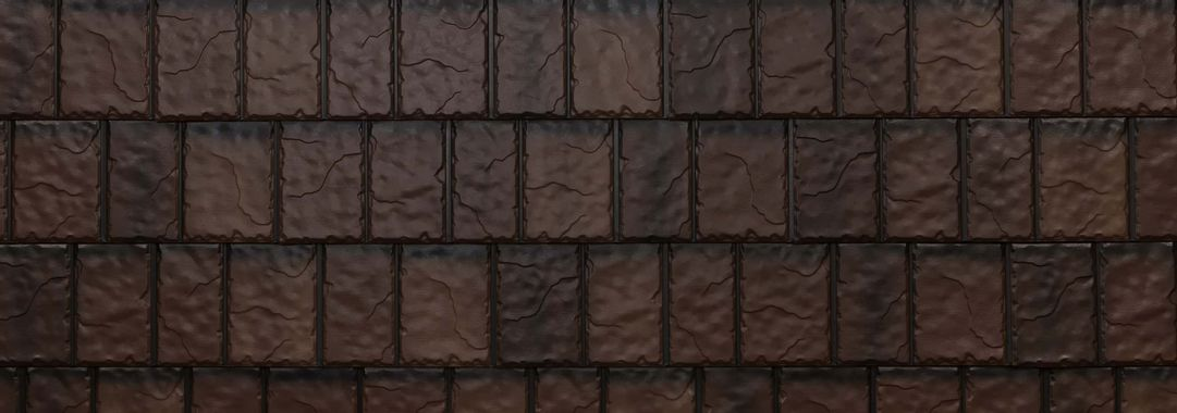 EDCO Arrowline® Slate Royal Brown Blend Swatch