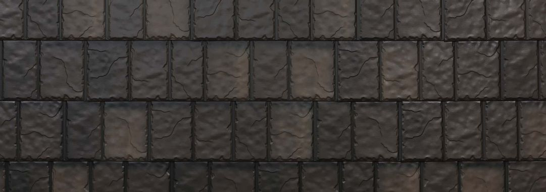 EDCO Arrowline® Slate Statuary Bronze Blend Swatch