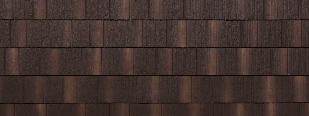 EDCO Infiniti® Textured Steel Shake Chestnut Brown Swatch