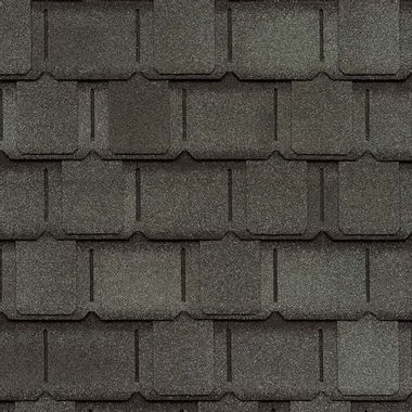 GAF Camelot II Antique Slate Swatch