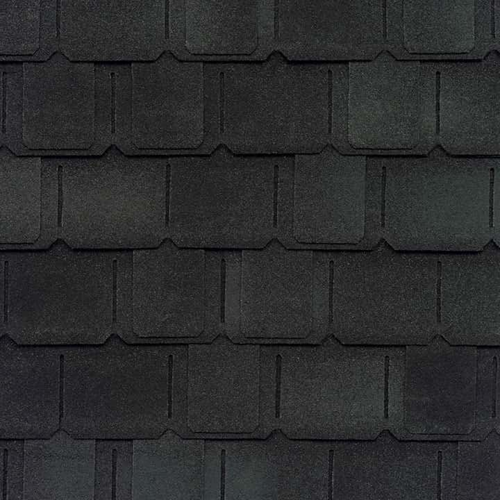 GAF Camelot II Charcoal Swatch