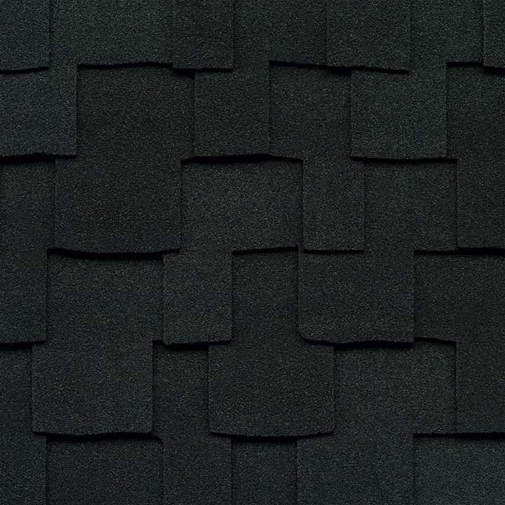 GAF Grand Sequoia Charcoal Swatch