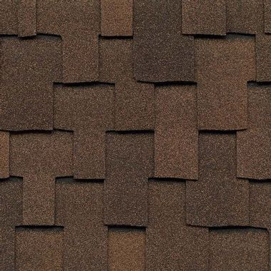 GAF Grand Sequoia Mesa Brown Swatch