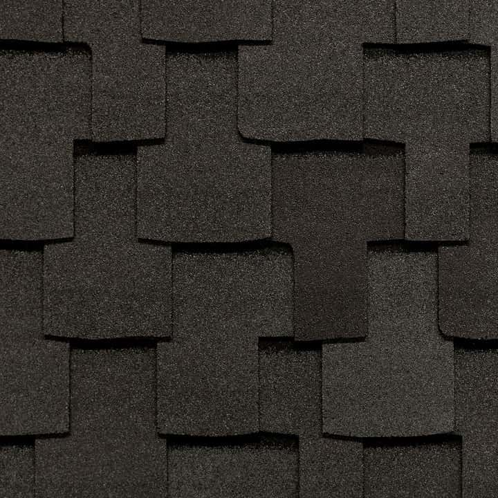 GAF Grand Sequoia Reflector Charcoal Swatch
