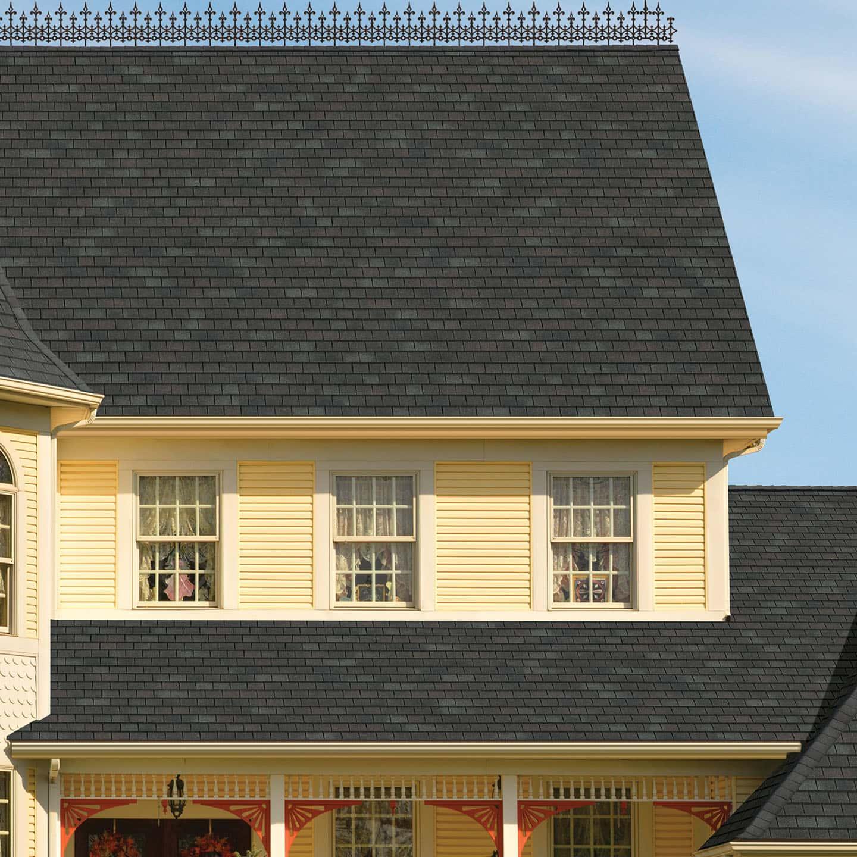 GAF Slateline Royal Slate House