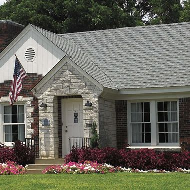 GAF Timberline Cool Series Antique Slate Swatch