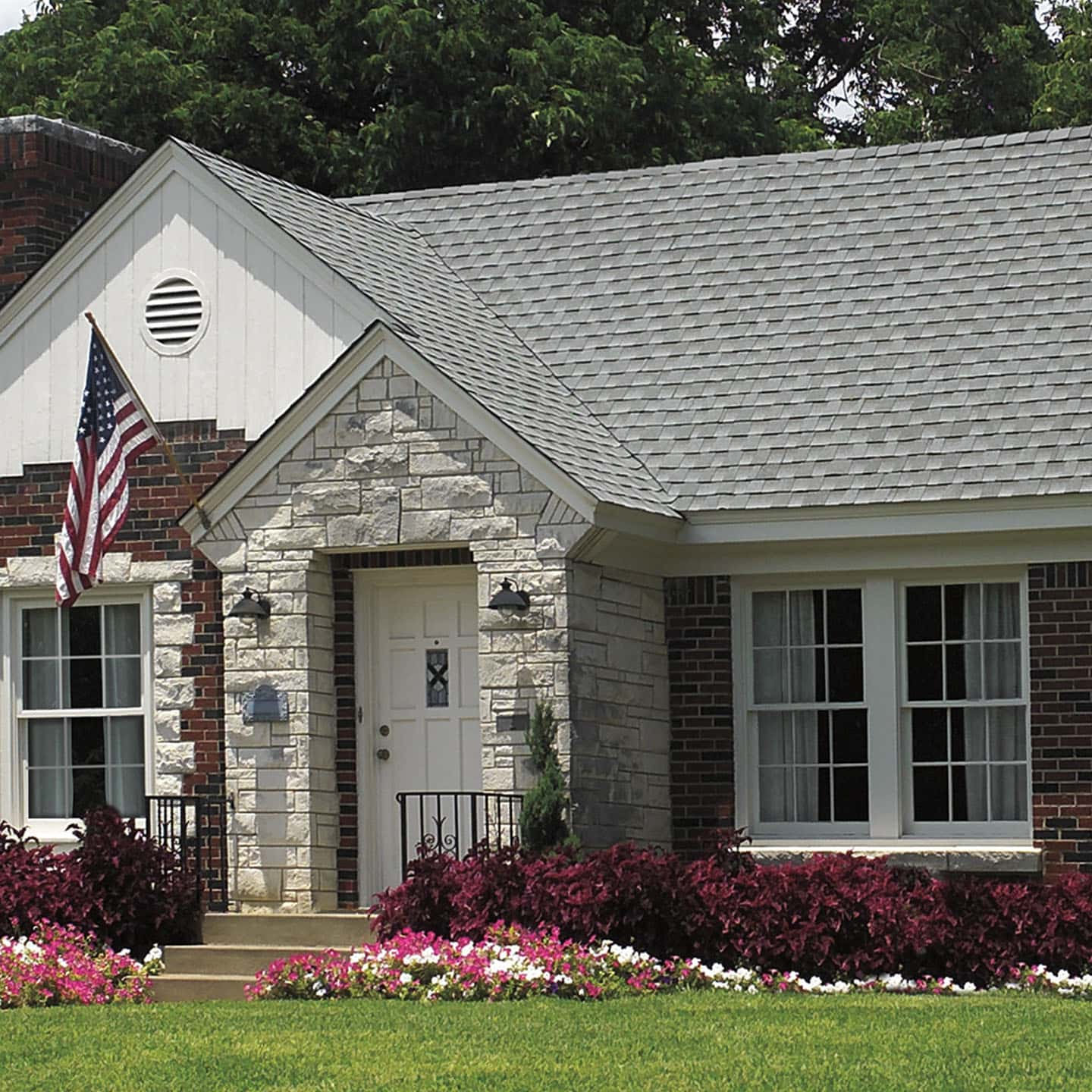 GAF Timberline Cool Series Antique Slate House