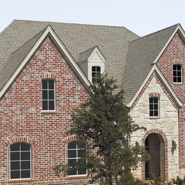 GAF Timberline Cool Series Weathered Wood Swatch