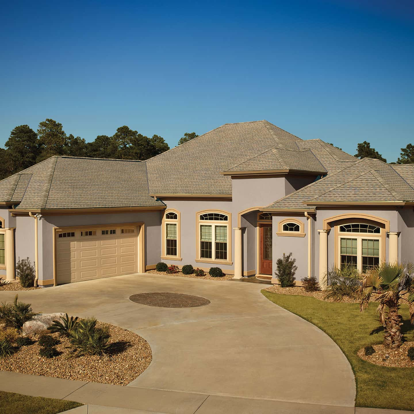 GAF Timberline HDZ Copper Canyon House