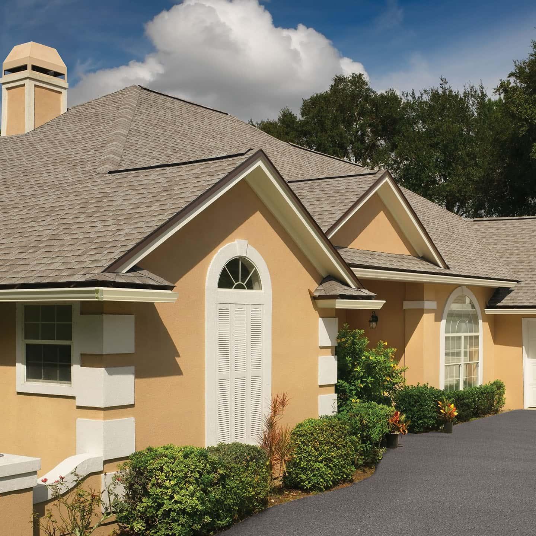 GAF Timberline HDZ Golden Amber House