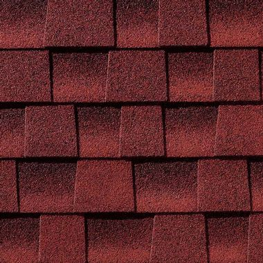 GAF Timberline HDZ Patriot Red Swatch