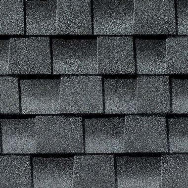 GAF Timberline HDZ Pewter Gray Swatch
