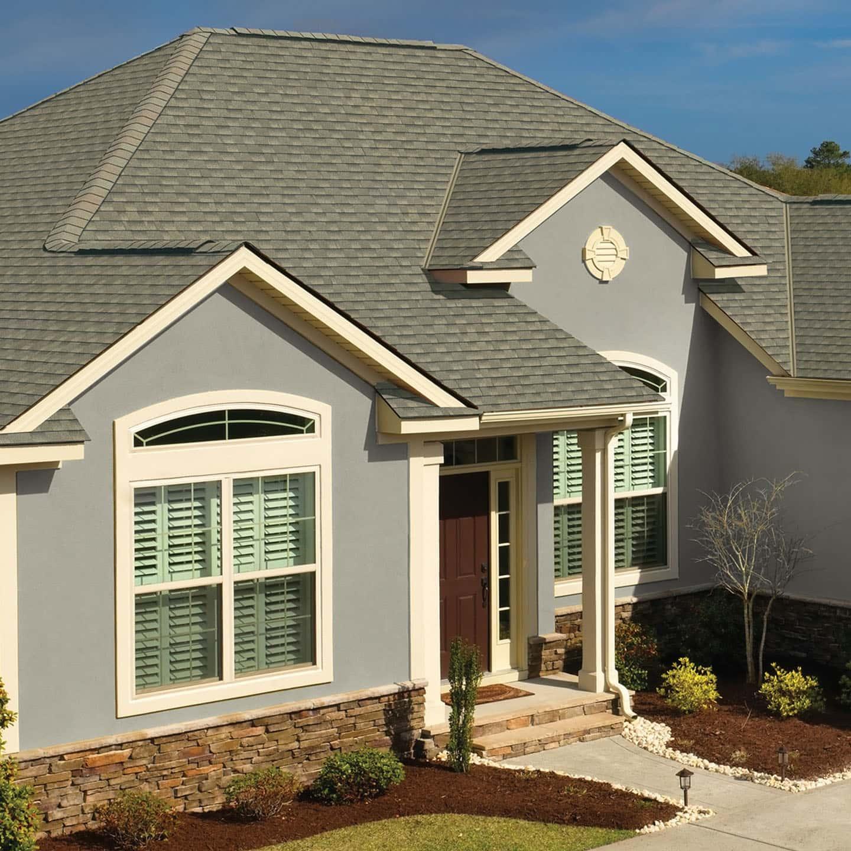 GAF Timberline HDZ Reflector Series Sagewood House