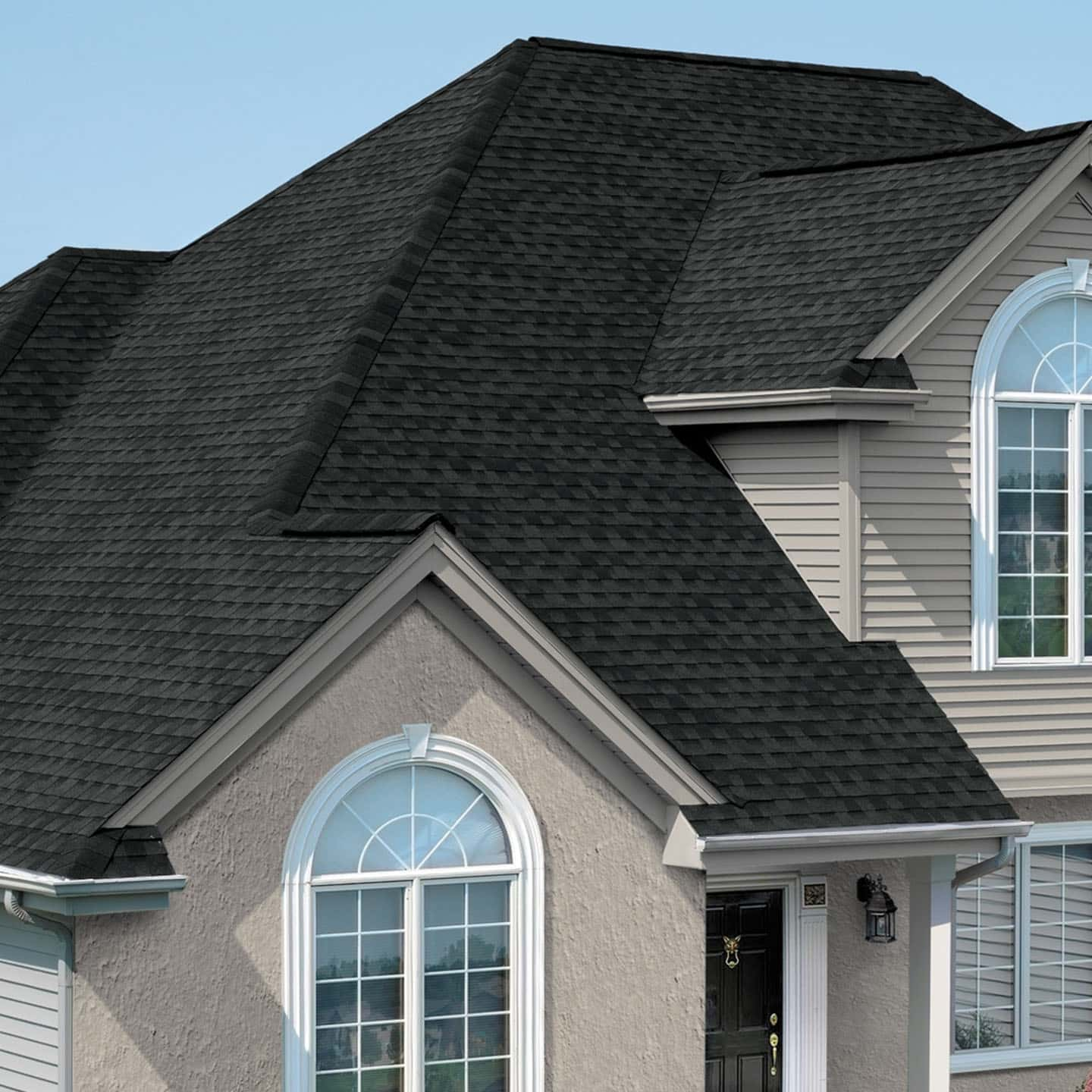 GAF Timberline Natural Shadow Charcoal House