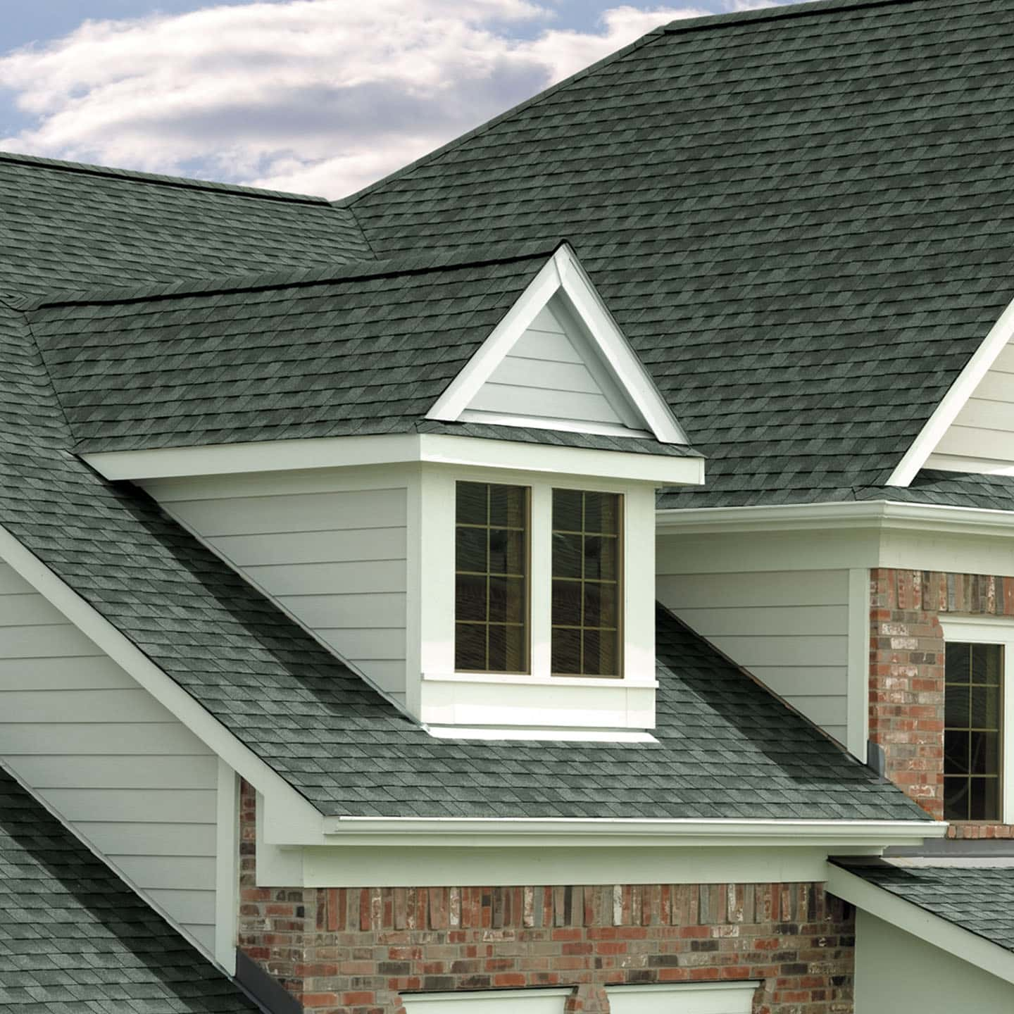 GAF Timberline Natural Shadow Slate House