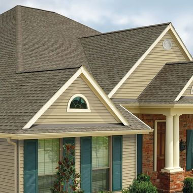 GAF Timberline Natural Shadow Weathered Wood Swatch