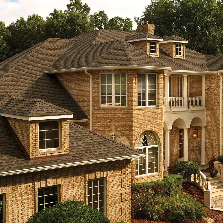 GAF Timberline UHD Barkwood House