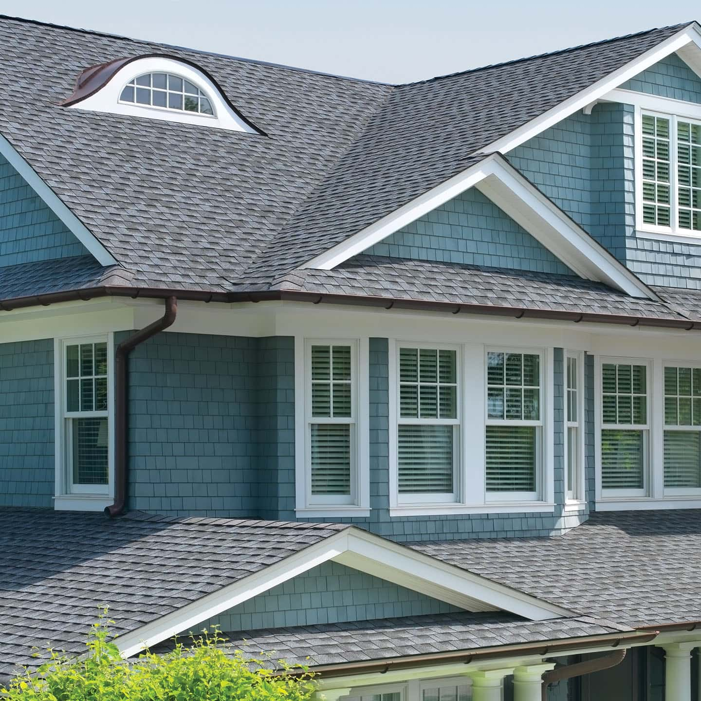 GAF Timberline UHD Pewter Gray House