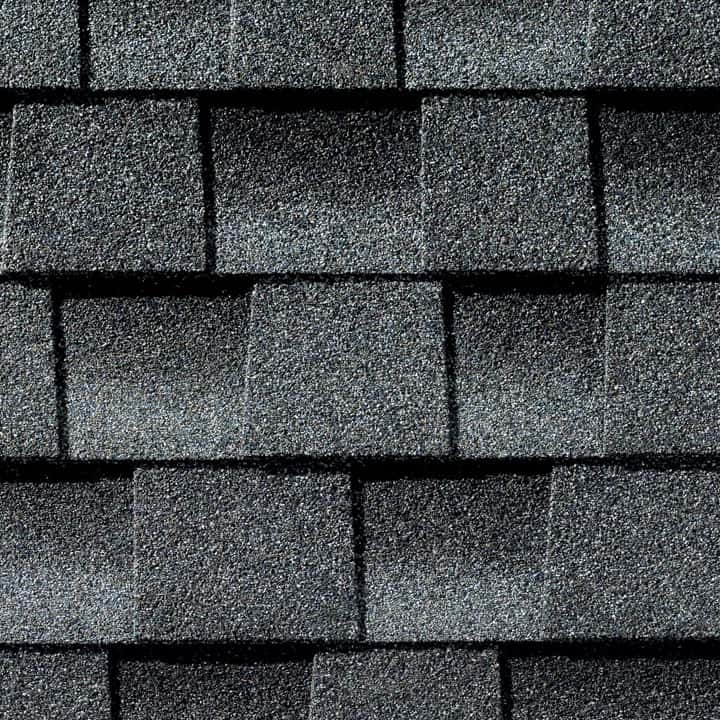 GAF Timberline UHD Pewter Gray Swatch