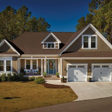 GAF Timberline UHD Reflector Series Hickory Swatch