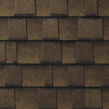 GAF Timberline UHD With Dual Shadow Line Barkwood Swatch