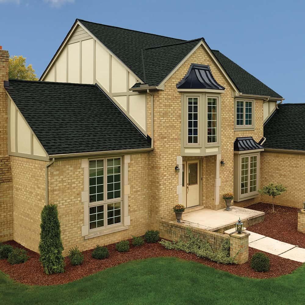 GAF Timberline UHD With Dual Shadow Line Charcoal House
