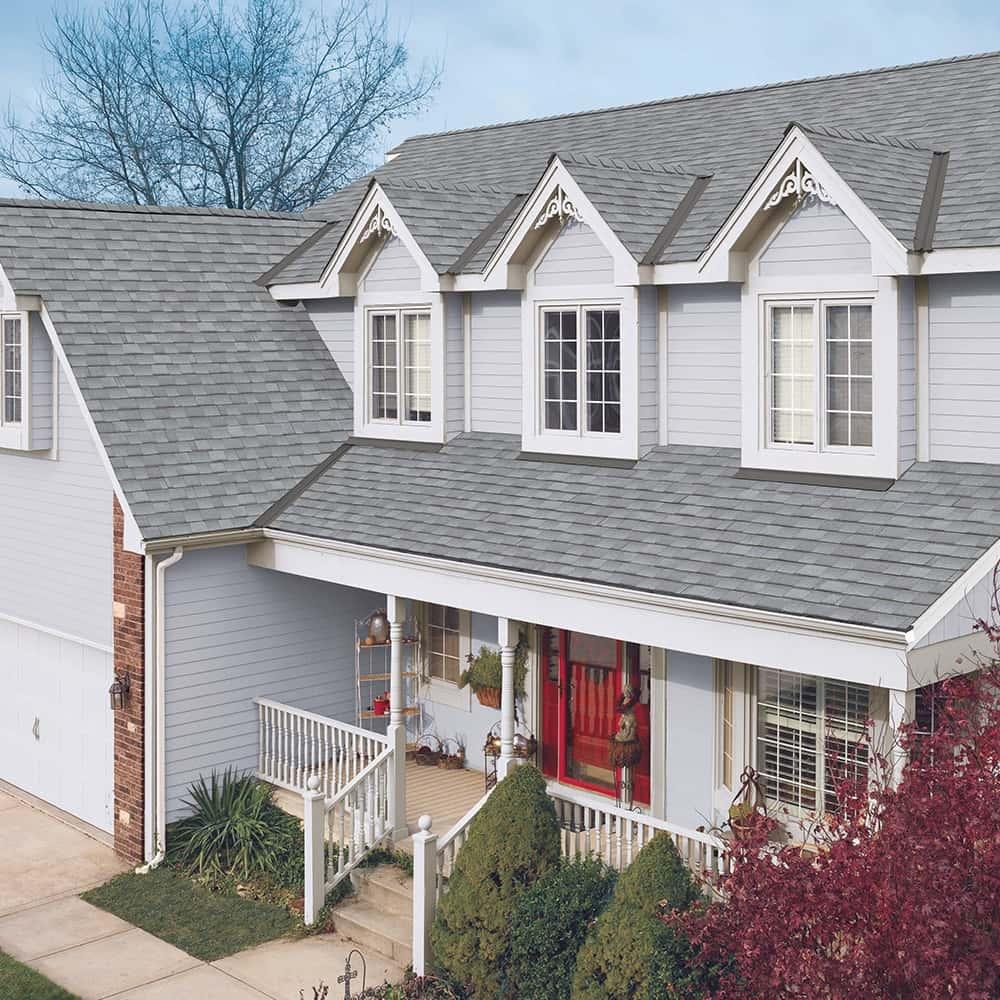 GAF Timberline UHD With Dual Shadow Line Fox Hollow Gray House